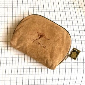 Handbags - 4pcs of Leather Cosmetic Bags
